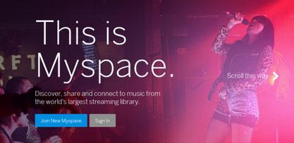 Publicizing Website on MySpace.